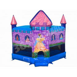Inflatable Princess Bouncy Castle