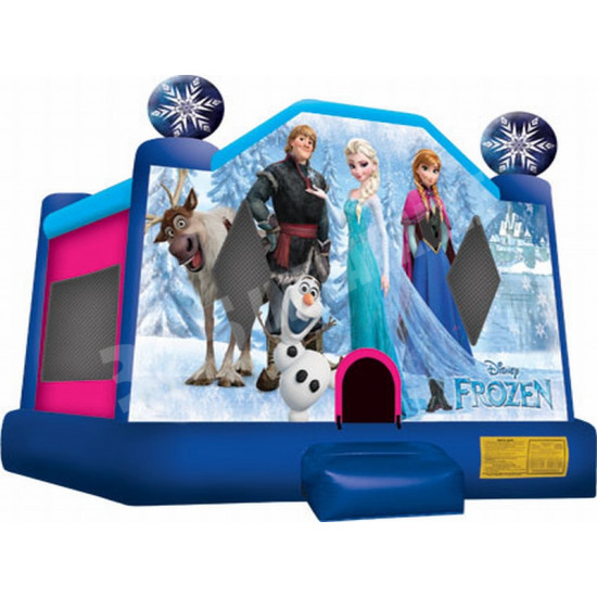 Frozen Moonwalk Jumping Castle