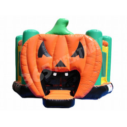 Pumpkin Halloween Bouncer