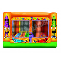 Mini Crayon Play Land Inflatable Combo