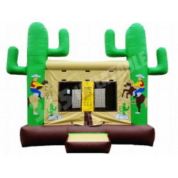 Western Themed Jumping Castle