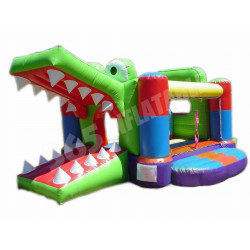 Crocodile Bouncy Castle