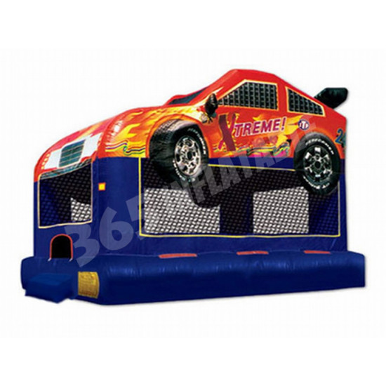 Race Car Bouncing Castle