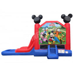 Mickey Mouse Jumping Castle Slide