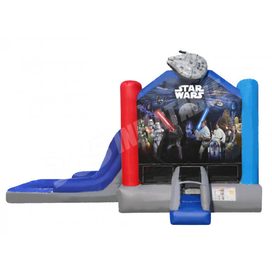 Starwars Jumping Castle Combo