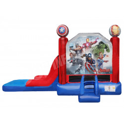 Avengers Jumping Castle Slide