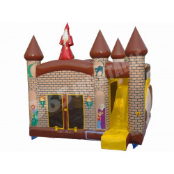 Wizard Inflatable Castle