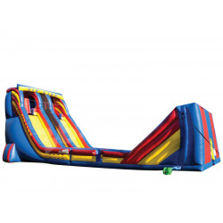 Zip Line Inflatable Slide