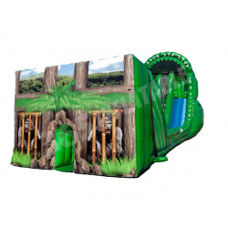Amazon Zip Line Inflatable Slide