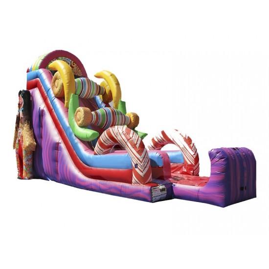 Ez Inflatables Sugar Rush Dry Slide