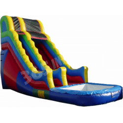 Inflatable Colourful Water Slide