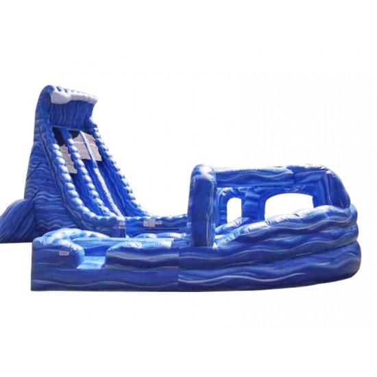 Big Blue Whale Water Slide