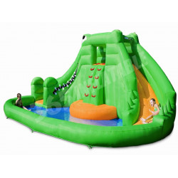 Crocodile Isle Inflatable Water Park And Slide