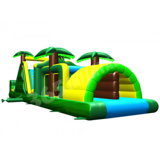 Backyard Tropical Obstacle