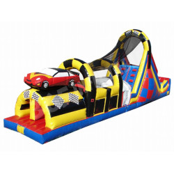 Race Car Obstacle Challenge