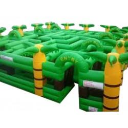 Inflatable Jungle Maze