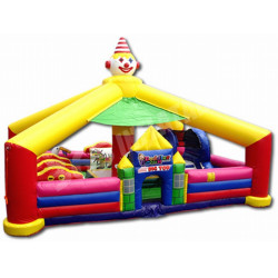 Circus Toddler Jumping Castle