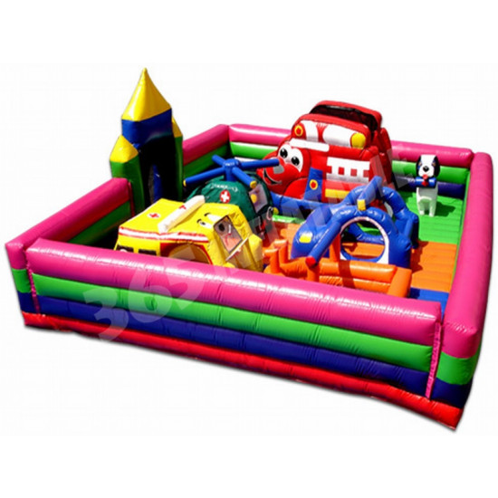 Rescue Heroes Toddler Jumping Castle