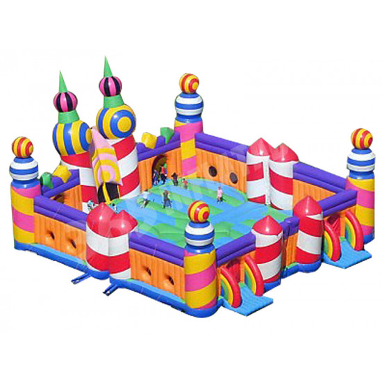 World's Biggest Jumping Castle