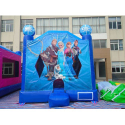 Frozen Moonwalk Jumping Castle