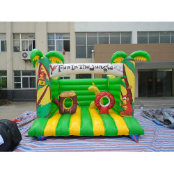 Jungle Bouncy Castle