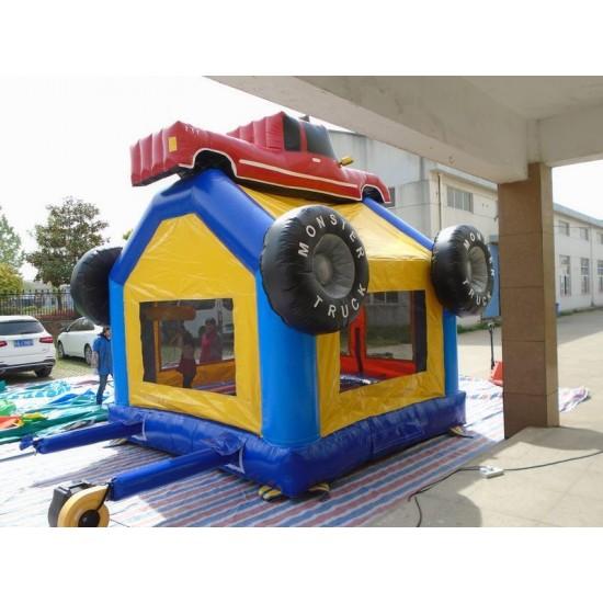 Monster Truck Jumping Castle