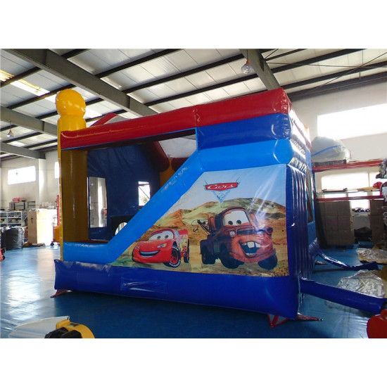 Cars Jumping Castle Combo C4