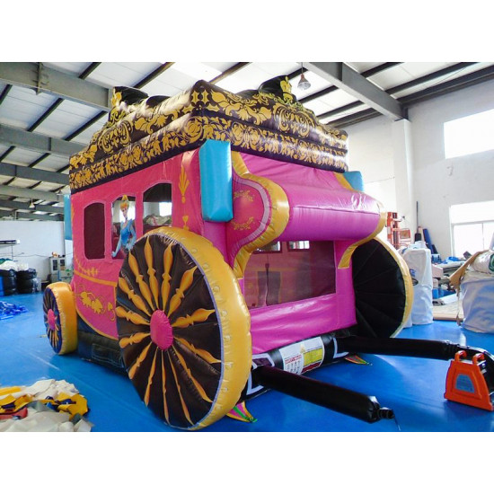 Princess Carriage Jumping Castle