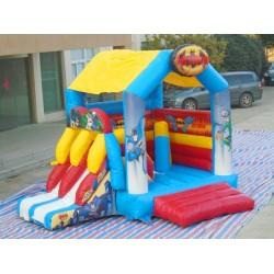Batman Jumping Castle Slide