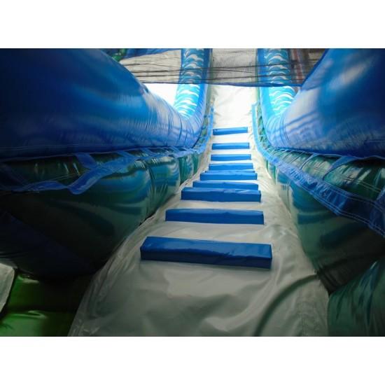 Tiki Falls Slide With Detachable Pool
