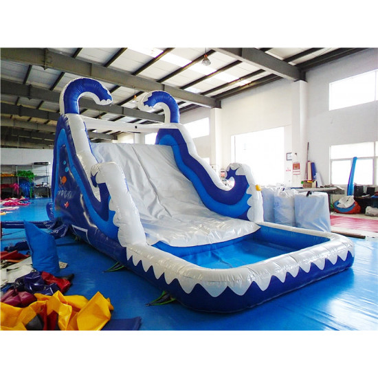 Double Drop Dry Or Wet Slide