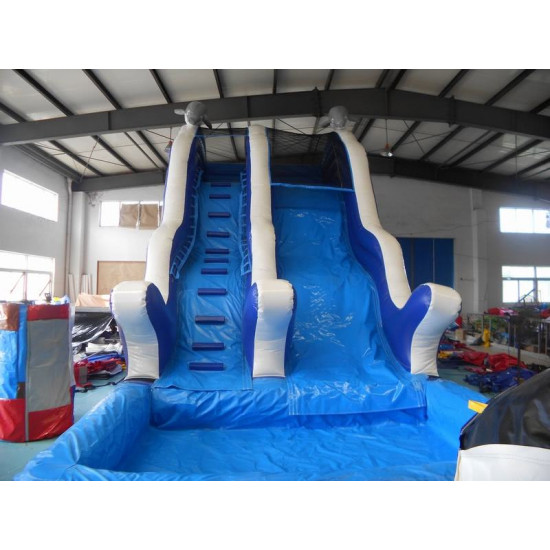 Water Slide Sea Theme