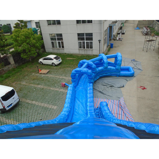 The Twister With Curve Water Slide
