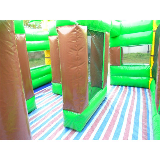 Inflatable Jungle Maze