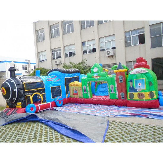 Fun Train Station Junior Jumping Castle