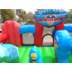 Inflatable Rescue Squad Junior Jumping Castle