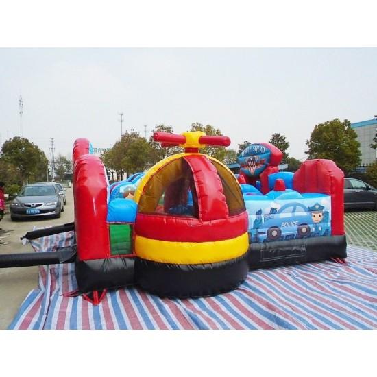 Inflatable Rescue Squad Junior Jumping Castle